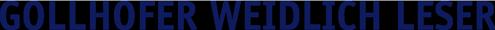 Gollhofer Weidlich Leser Logo