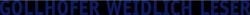 Gollhofer Weidlich Leser Logo für Mobilgeräte